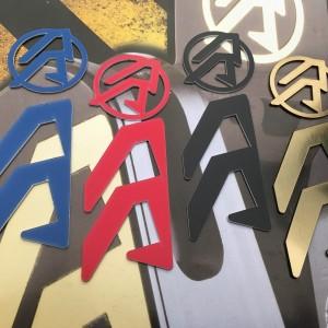 Alpha-X Logo color inserts